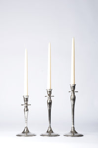 Elin - Set of 3 Candlesticks - Sleek Classic - Simply Roka
