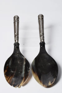 Chilika - Buffalo Horn Serving Spoons - Simply Roka