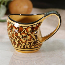 Hand Painted Mug - Brown - Simply Roka