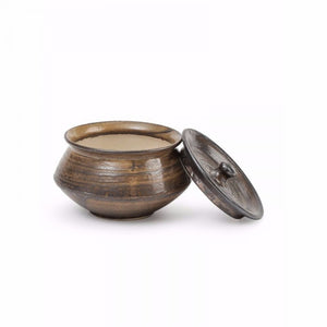 Set of 3 Serving Bowls - Dark Brown - Simply Roka