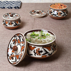 Set of 3 Serving Bowls - Floral Simply Roka