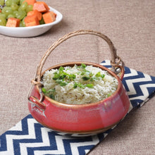 Serving Bowl with Cane Handle - Simply Roka