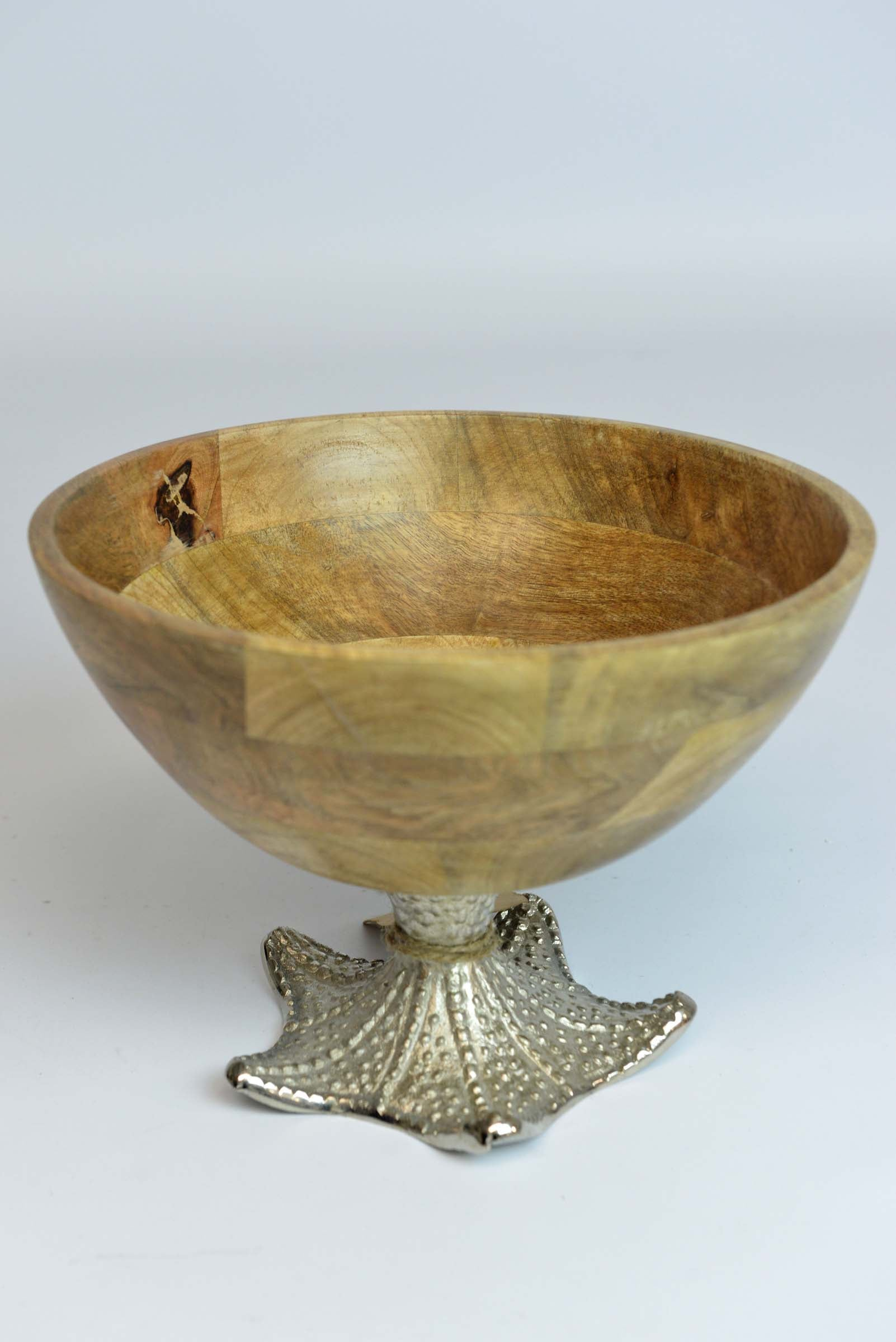 Malwana - Mango Wood Serving Bowl - Starfish Large Simply Roka