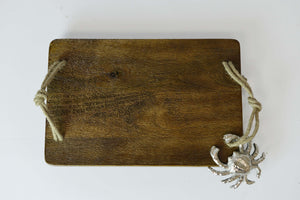 Amba - Mango Wood Serving Platter - Crab Simply Roka