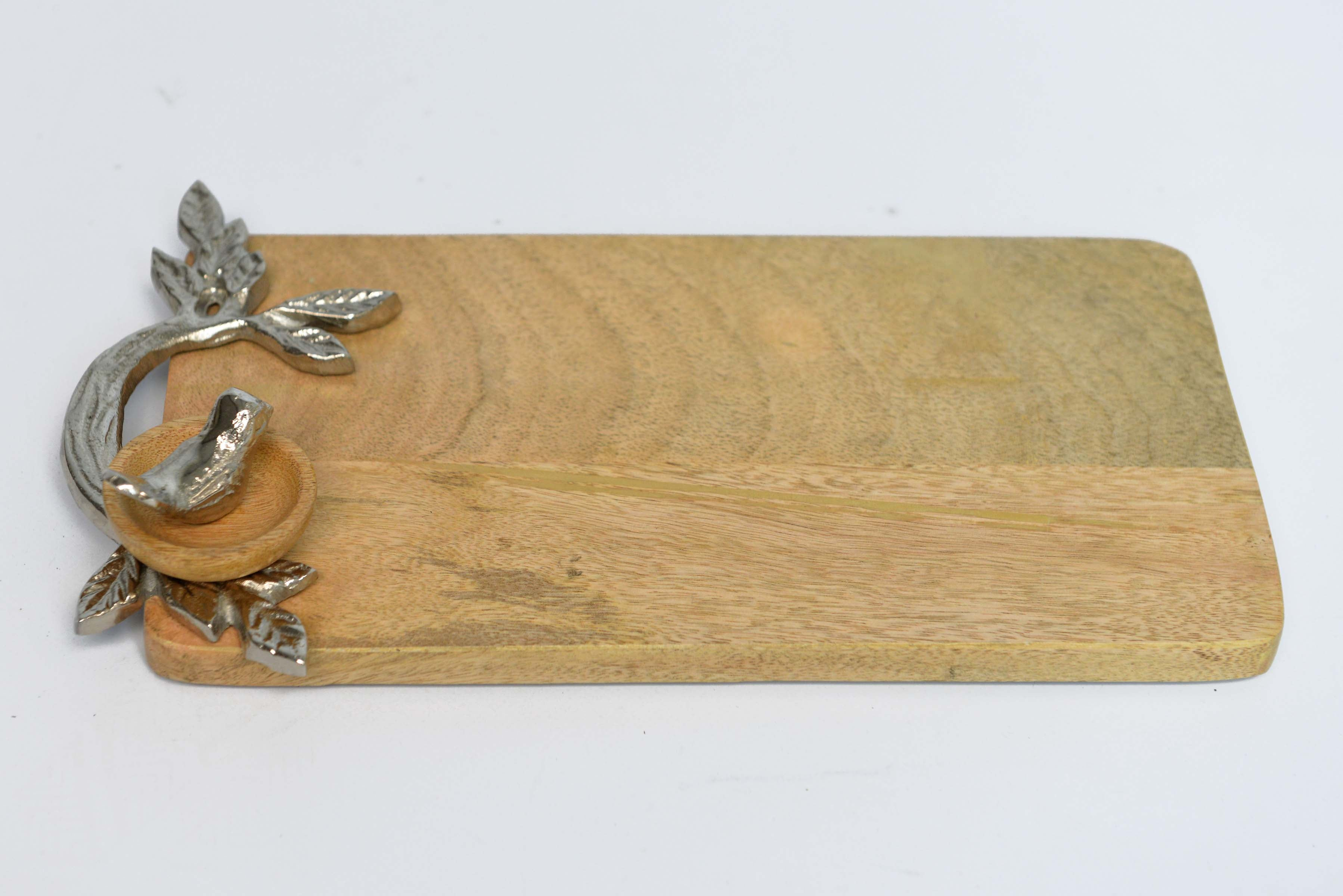 Dusheri - Mango Wood Serving Platter - Bird Nest - Simply Roka
