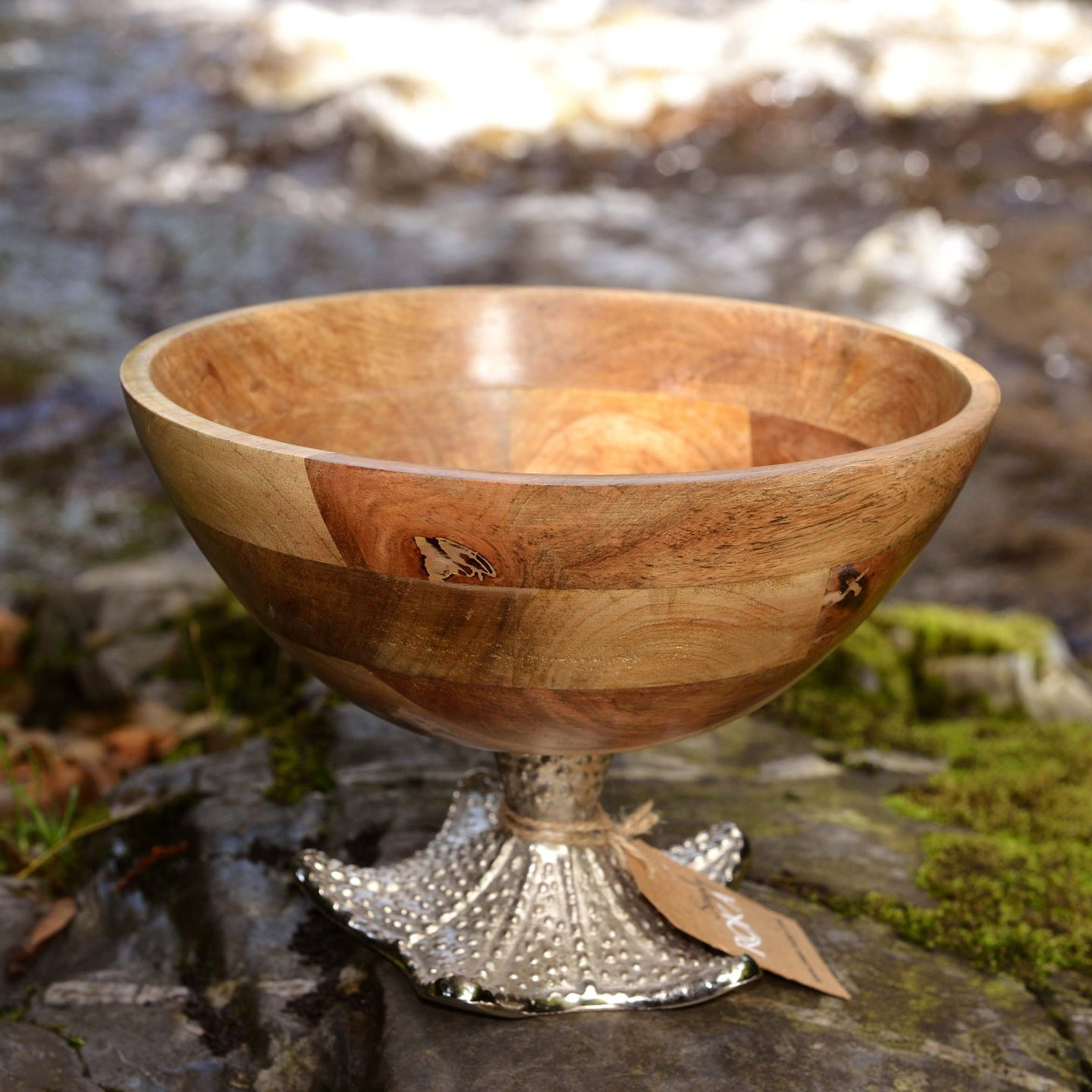 Malwana - Mango Wood Serving Bowl - Starfish Large - Simply Roka