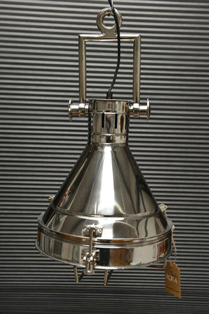 Skagen - Nautical Pendant Ceiling Light - Chrome Finish Simply Roka