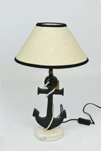Emden - Nautical Anchor Table Lamp - Coastal Theme - Simply Roka