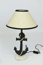 Emden - Nautical Anchor Table Lamp - Coastal Theme Simply Roka