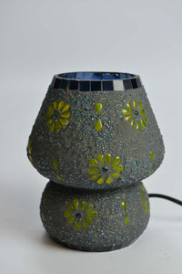 Glass Mosaic Table Lamp - ML292 - Simply Roka