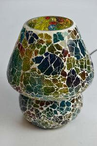 Large Glass Mosaic Table Lamp - ML293L - Simply Roka