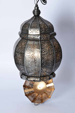 Fatin - Moroccan Style Ceiling Lamp & Candle Holder - 2 in 1 Simply Roka