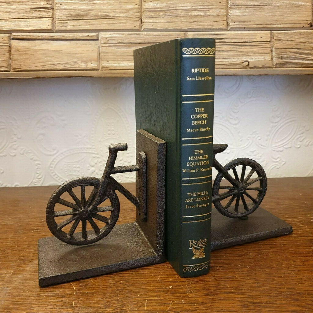 Cast Iron Bicycle Bookend - Simply Roka