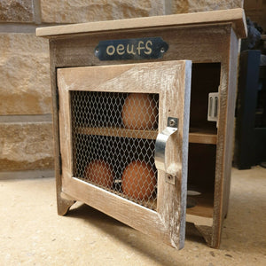 Wooden Egg Cabinet - Simply Roka