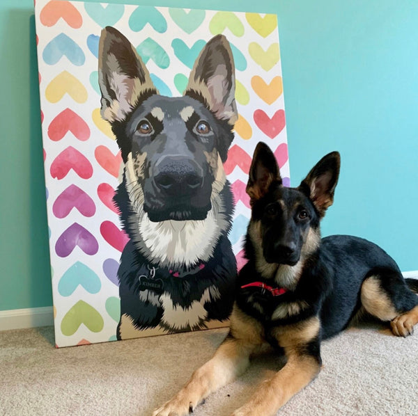 Custom Pet Canva (Limited Edition)