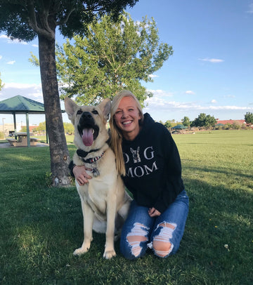 Women's Custom DOG MOM Hoodie
