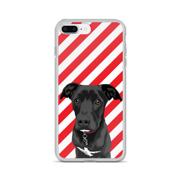 Candy-cane iPhone Case