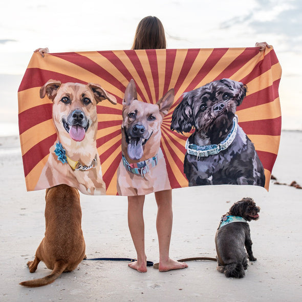 Custom Beach Towel
