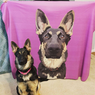 *NEW* Custom Pet Sherpa Blanket