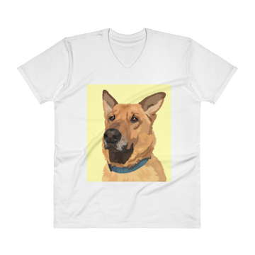 Men's Custom Pet V-Neck