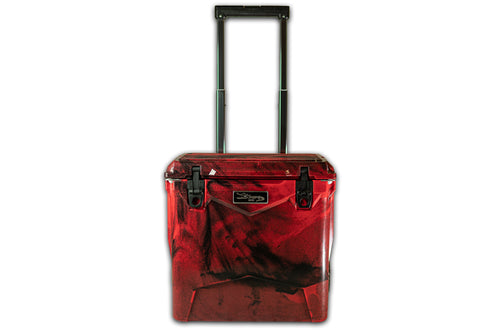 Swamp Box 45L Rolling- Red Camo