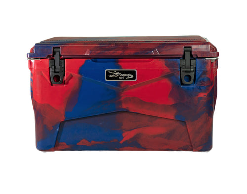 Swamp Box 45L-Red and Blue