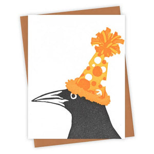 The Party Hat Grackle Card