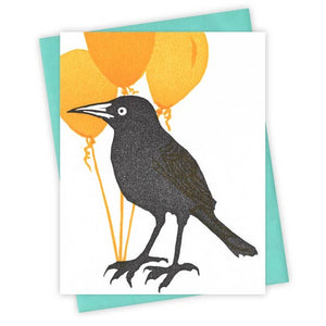 The Bunch of Balloons Grackle Card
