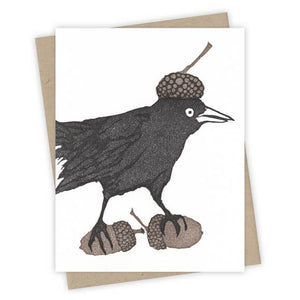 Forager Grackle Card