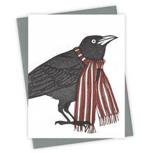 Winter Wear Grackle Card