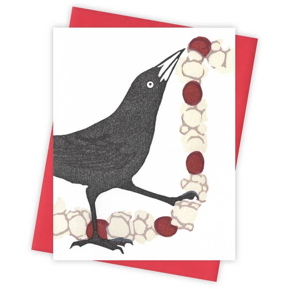 The Garland Grackle Card