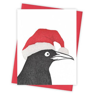 Santa's Helper Grackle Card