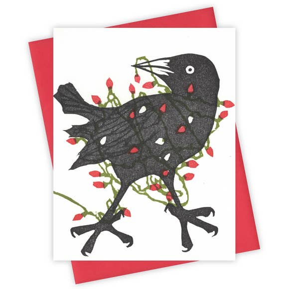 The Tangled Grackle Card