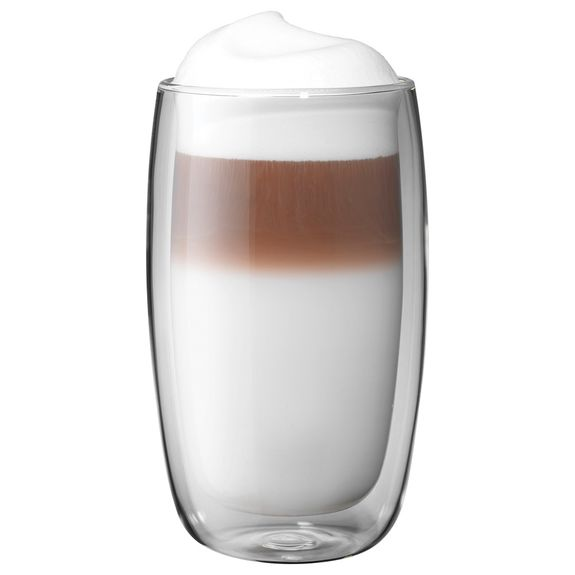 Zwilling Sorrento Double Walled 11.8 oz Latte Glass a Three Piece Set