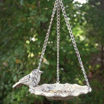 Cast Iron Hanging Bird Feeder