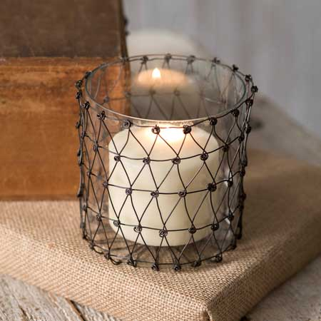 Julia Wire Candle Holder