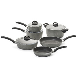 BALLARINI PARMA 10-PC FORGED ALUMINUM NONSTICK COOKWARE SET