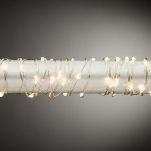 Warm White Micro LED Light String with Timer