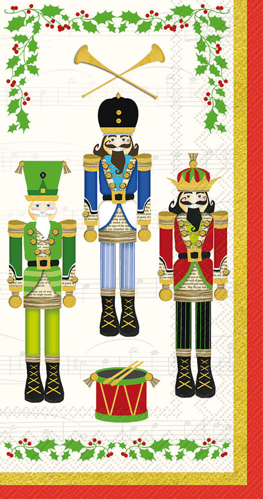 Nutcracker Guest Towels