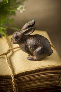 Small Cast Iron Rabbit