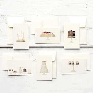 Cakes Enclosure Cards