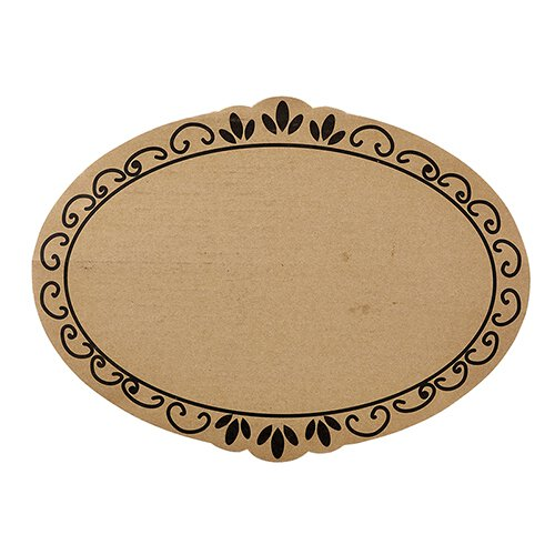 Cardboard Tray - Ornate