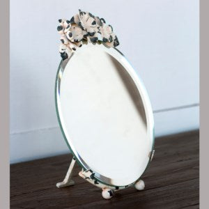 Large Floral Top Mirror