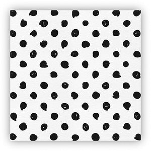 White and Black dot cheese papers