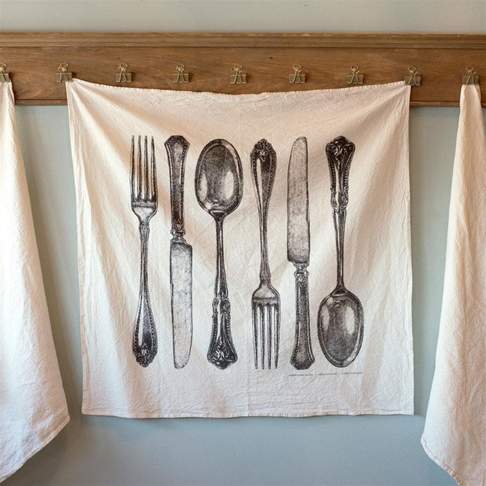 Fork, Knife, Spoon Towel