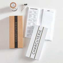Cardboard Collection  Charcuterie Planning Pad