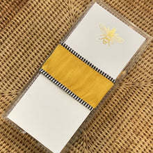 Gold Foil Bee Buck Note Pad