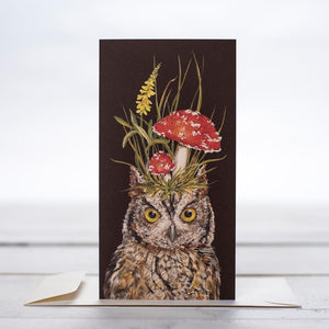 Harold the Owl Card