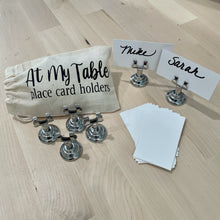At My Table Place Card or Menu Card Holder -