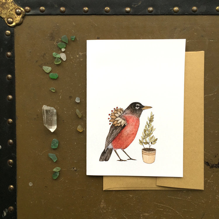 Robin -Critters and Plants
